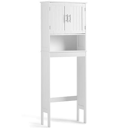 Amazon.com: VonHaus Etagere Bathroom Cabinet Over the Toilet Storage ...