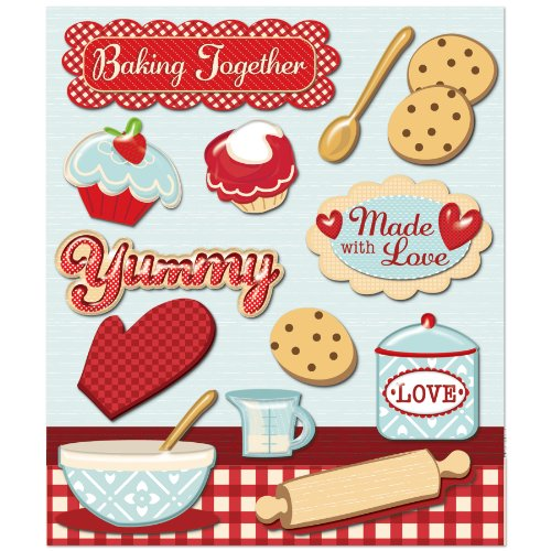 K&Company Baking Together Sticker ()