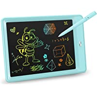 KOKODI LCD Writing Tablet, 10 Inch Colorful Toddler Doodle Board Drawing Tablet, Erasable Reusable Electronic Drawing…