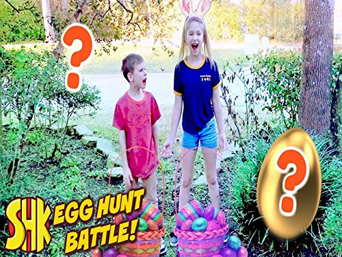 Hope Vs Noah Easter Eggs Treasure Hunt!