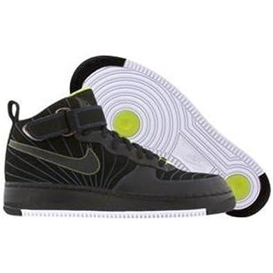 Amazon.com | JORDAN AJF 12 MENS 317742-001 (11.5, BLACK/BLUE SAPPHIRE-CYBER)  | Basketball