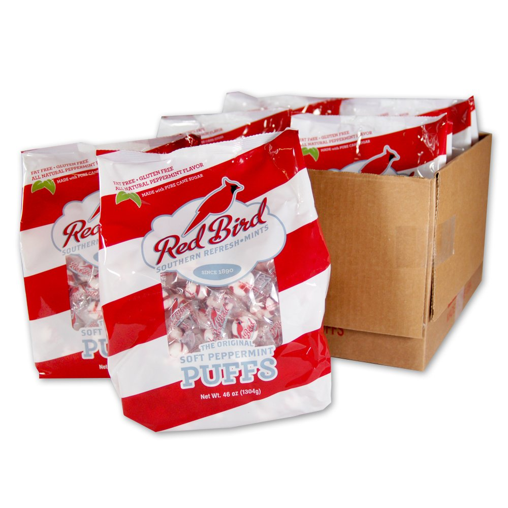 Red Bird Peppermint Puffs - 6-240 Ct Bags by Red Bird