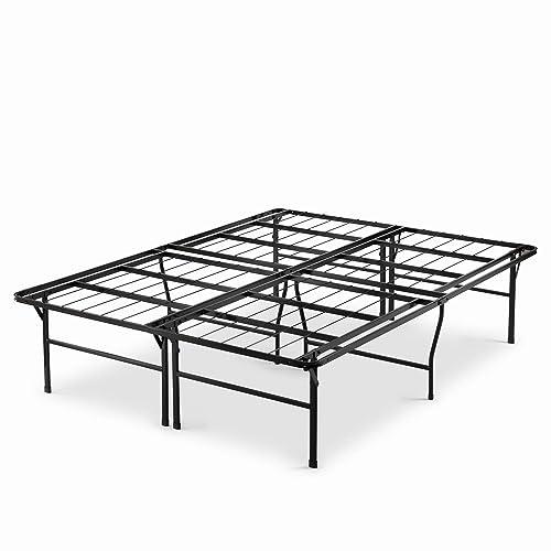 18 inch metal platform bed frame: Zinus Casey 18 Inch Premium SmartBase Mattress Foundation