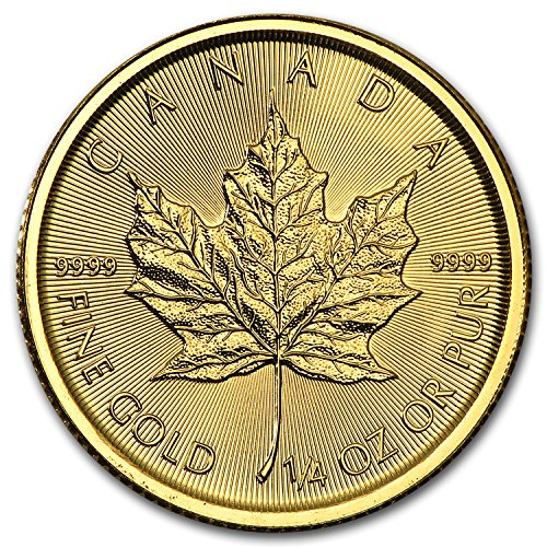 2016 CA Canada 1/4 oz Gold Maple Leaf BU Gold Brilliant Uncirculated