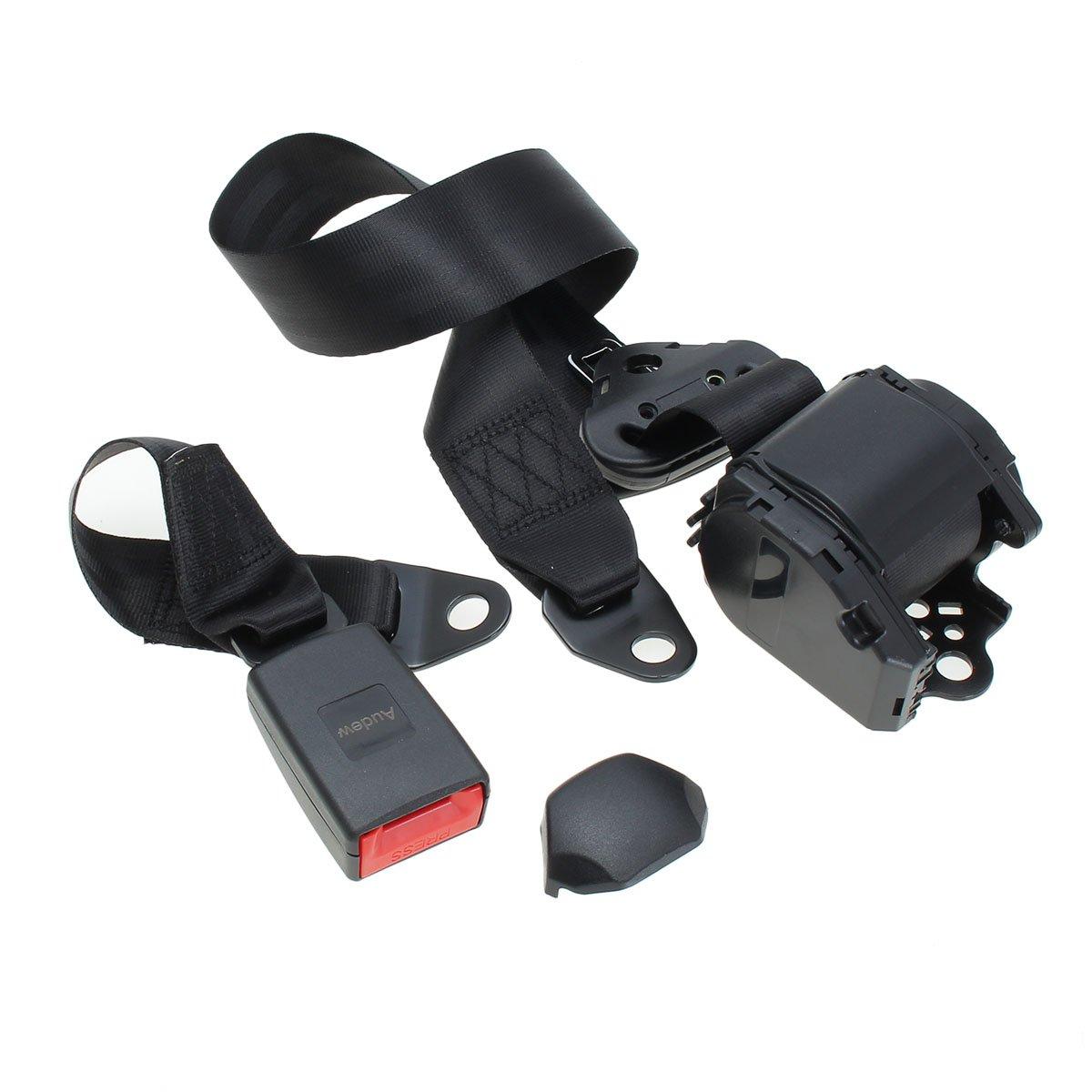 3 punti di attacco con avvolgimento automatico con certificazione T/ÜV 3700/mm Cintura di sicurezza universale