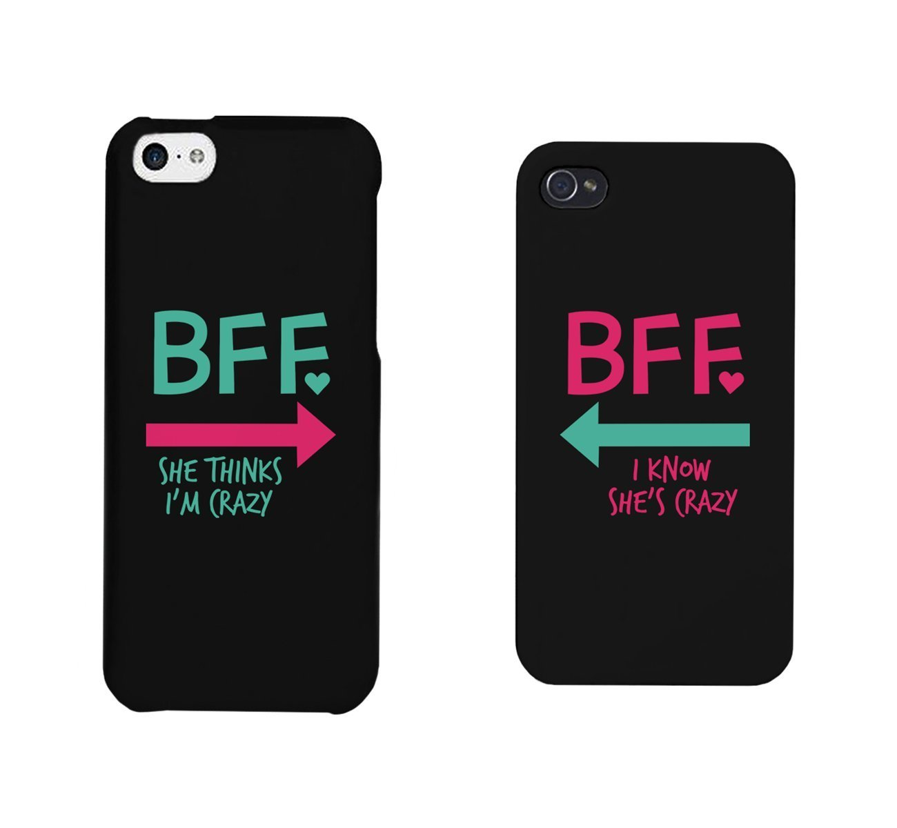 wholesale dealer 00c45 8f370 Funny BFF Phone Cases - Crazy Best Friend Phone Covers for iphone 4, iphone  5, iphone 5C, iphone 6, iphone 6 plus, Galaxy S3, Galaxy S4, Galaxy S5, ...