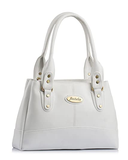 5d33d8ba8c3 Fostelo CATLIN Women's Handbag (White): Amazon.in: Shoes & Handbags