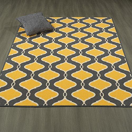 Ottomanson Studio Collection Trellis Design Area Rug, 3'3