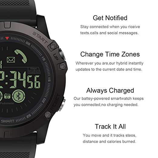 Amazon.com: YWYU Sports Smart Watch, Digital Outdoor Sports ...