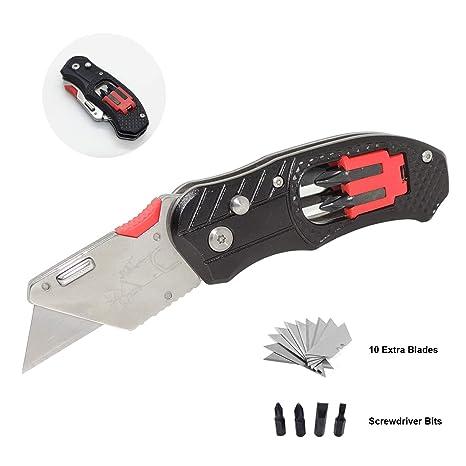 Cuchillos de utilidad con puntas de destornillador, Fiotasy ...