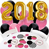 2018 Dream Big - Confetti and Balloon Graduation Party Decorations - Combo Kit