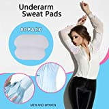 Underarm Sweat Pads - Lavince Fight Hyperhidrosis[ 80 Pack/40 Pairs ] PREMIUM QUALITY Underarm Armpit Sweat Pads Shield Dress Shields Sweat Guard for Women and Men