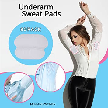Amazon Underarm Sweat Pads Lavince Fight Hyperhidrosis 80