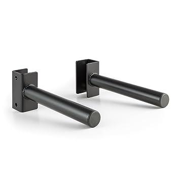 CAPITAL SPORTS Plahol pareja de apoyo para pesas máx 200kg Rack de montaje (soporte disco