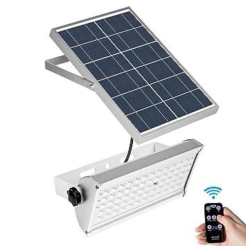 Solar Foco Proyector Luz De InundacióN Exterior Luz Foco ...