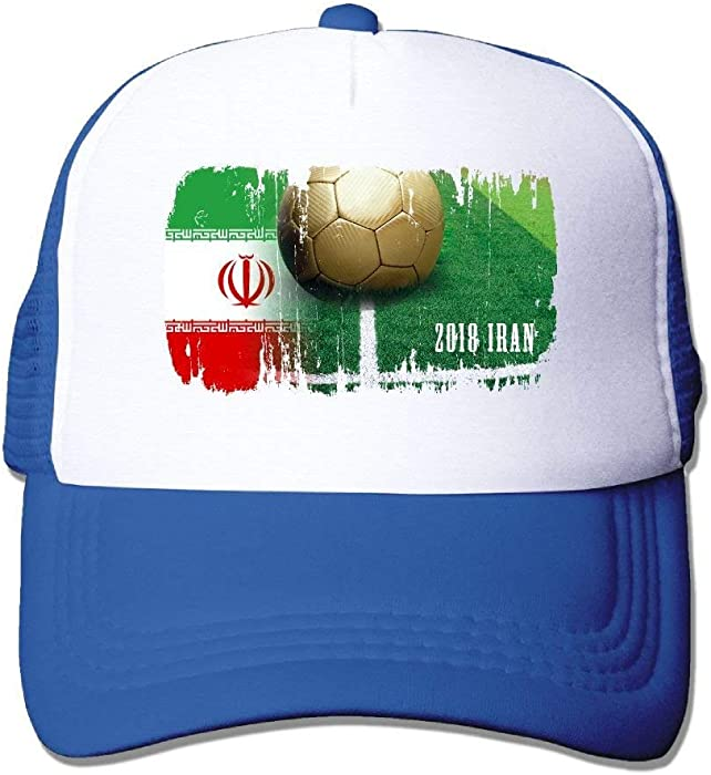 34d38a65fd6 Fitted Iran Football 2018 Mesh Baseball Caps Running Ball Custom Hat at  Amazon Men s Clothing store