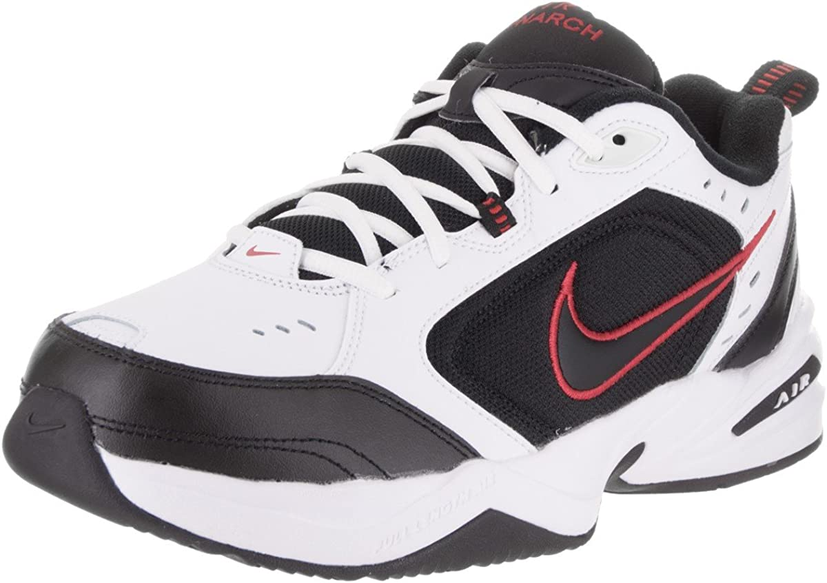 astronauta Tener cuidado muerto  Amazon.com | Nike Men's Air Monarch IV (4E) Black 416355-001 | Fashion  Sneakers