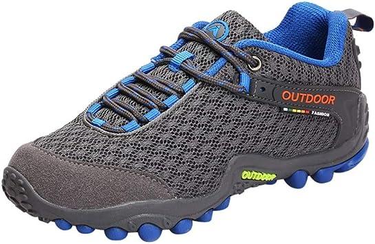 Zapatillas de running para mujer para senderismo, correr, gimnasio, fitness, zapatillas ligeras de burbujas de aire