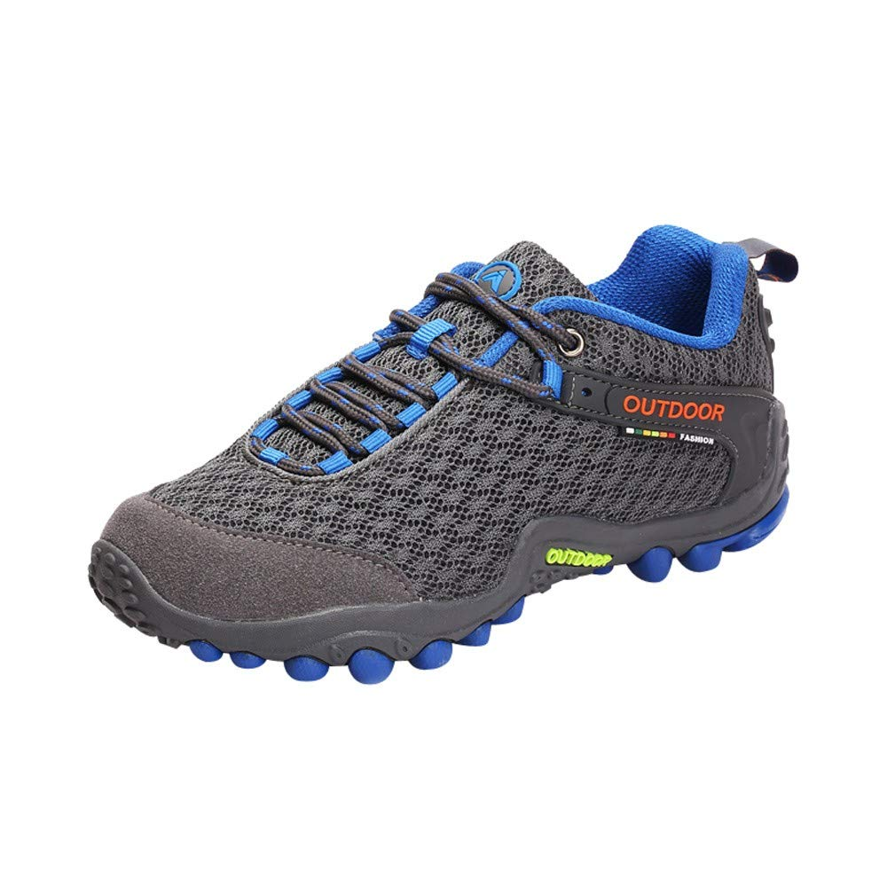 Zapatos De Senderismo Para Mujer,ZARLLE Zapatillas De Escalada Calzado De Ante Para Alpinismo, Zapatos De Excursionismo Zapatos Seguros Para Actividades Al ...