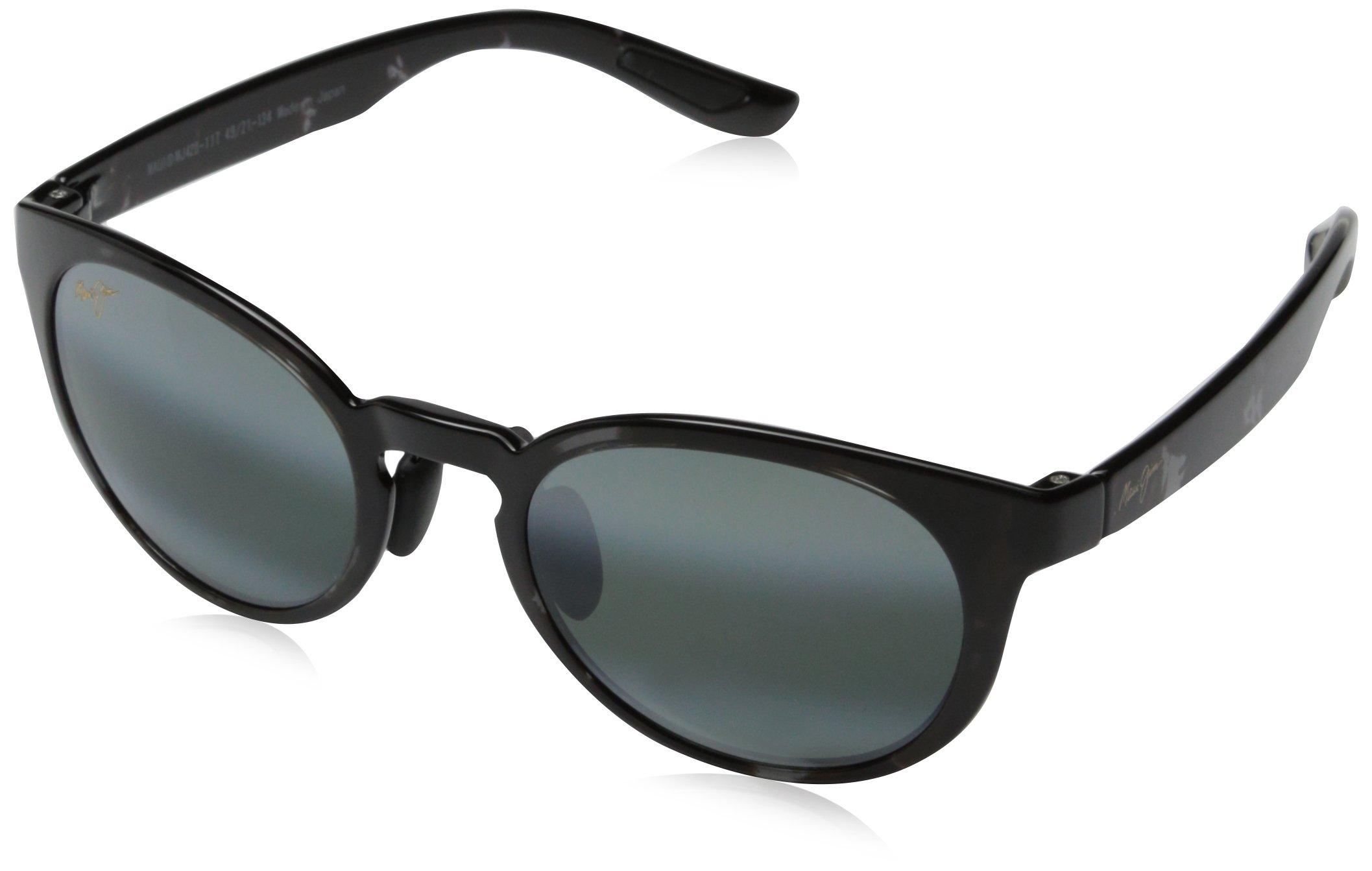Maui Jim - Keanae - Black/Grey Tortoise Frame- Polarized Neutral Grey Lenses