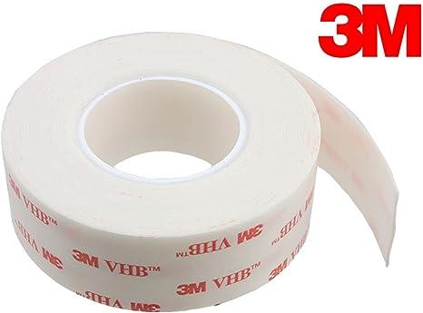 Original 3M VHB 4991 Doppelseitiges Montage Hochleistungsklebeband-12mm 3m Rolle