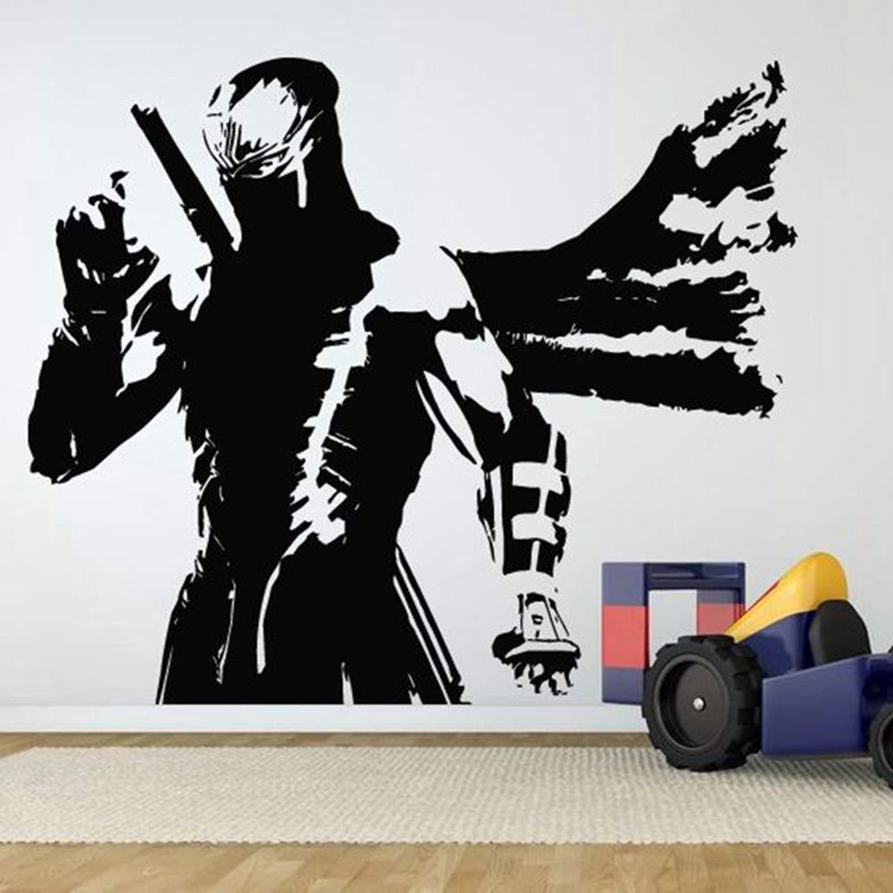 pegatina de pared Kendo Sticker Samurai Calcomanía Japón ...