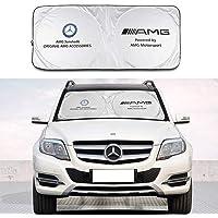 Sundis tech - Parasol para parabrisas de coche Benz, bloquea los rayos UV y visera plegable para la mayoría de Benz/AMG