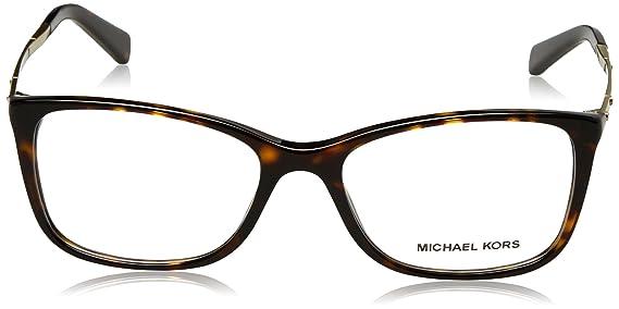 d3dd12d268 Michael Kors Antibes Eyeglasses MK4016 3006 Dk Tortoise 53 17 140 at Amazon  Men s Clothing store