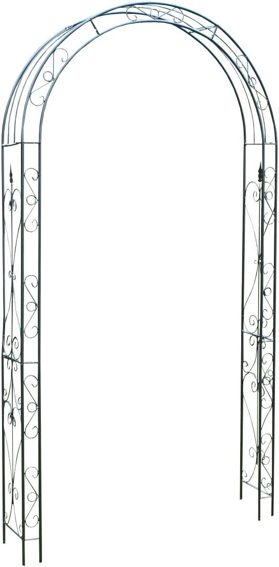 Selections Ornate Decorative Metal Garden Arch