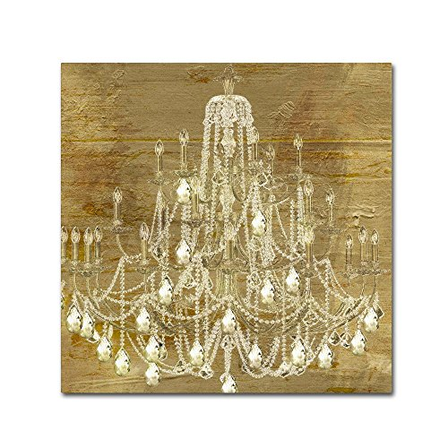 Trademark Fine Art Dancing on the Ceiling II by Color Bakery, 18x18-Inch Canvas Wall Art