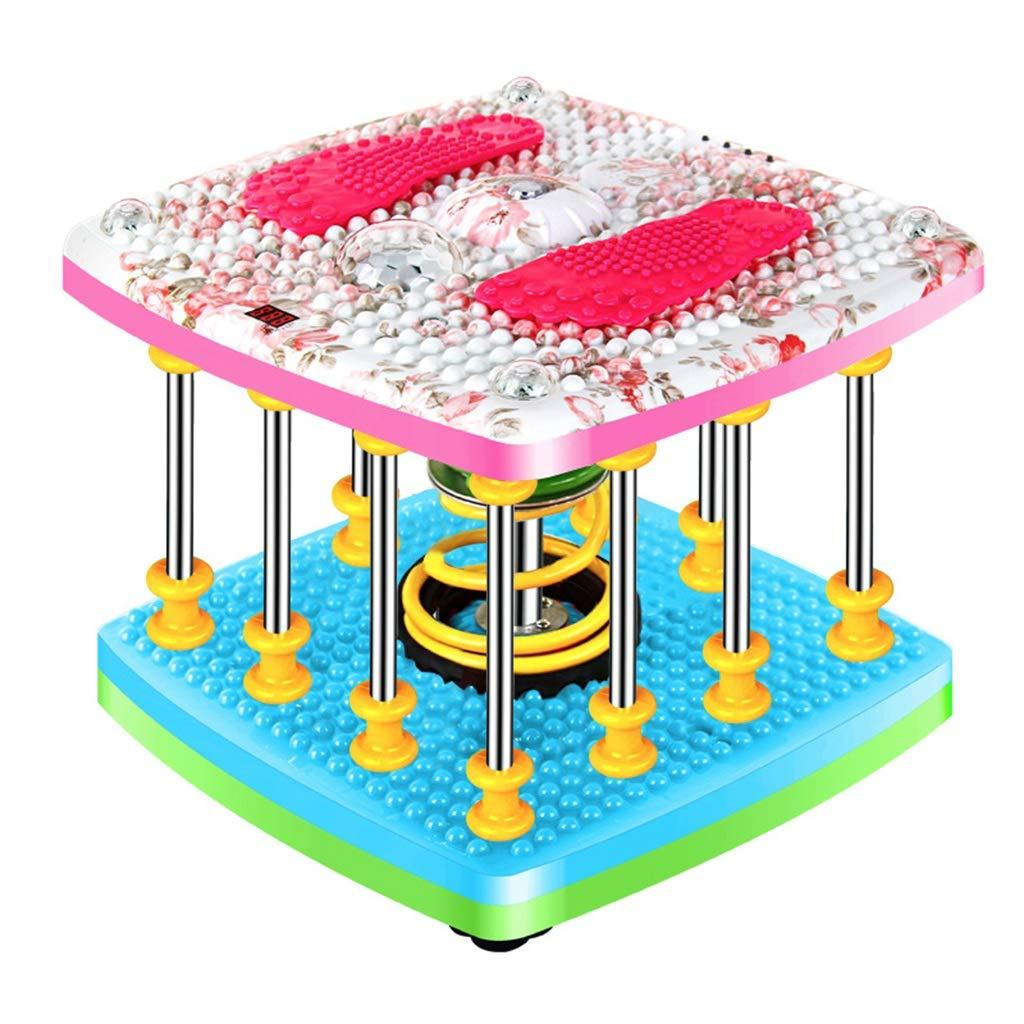 家庭用ツイストウエスト、重量ツイストウエスト機器薄型ウエストフィットネス機器音楽スポーツ用品36 * 36 * 38CM B Pink B07GWZ5QFL