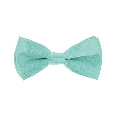 257d1c9cf47b7 Noeud Papillon Enfant Vert d'eau: Amazon.fr: Vêtements et accessoires