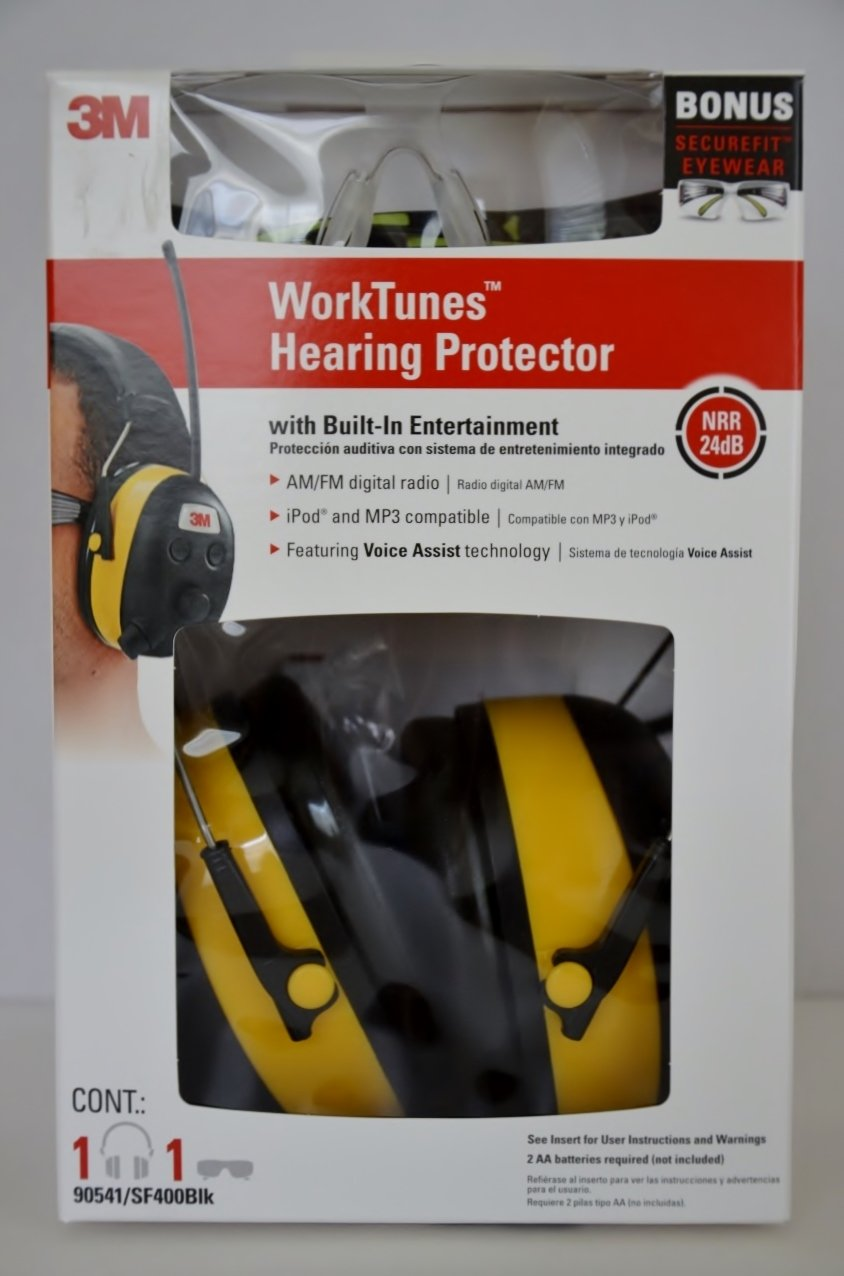 itonotry 3M Tekk Peltor Digital Worktunes Radio MP3 Hearing Protection Headphone Earmuffs (item_by#marysonlinedeals,ket56141229233718