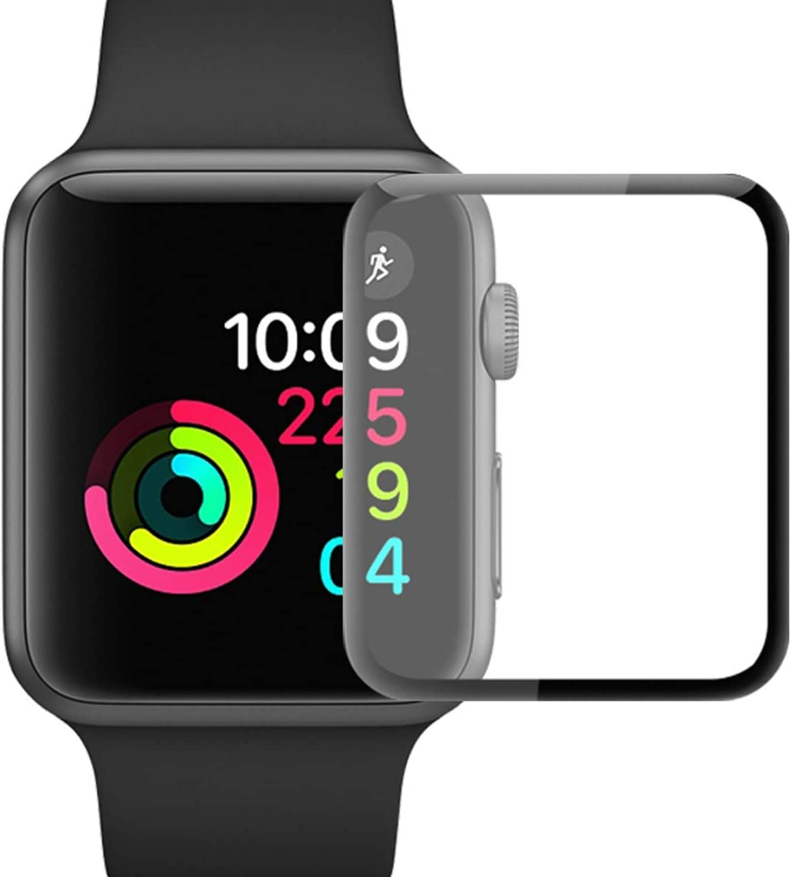 iWatch Screen Protector for Apple Watch 40mm Series 4 [3 Pack] HD Clear Flexible Soft Full Coverage Screen Protector Scratch-Resistant Anti-Bubble