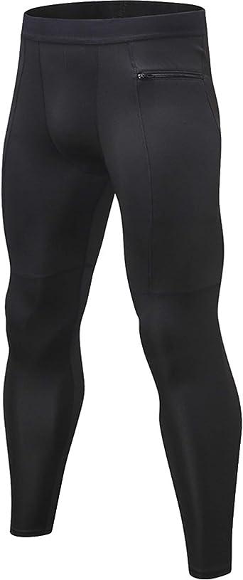 Men's Compression Dry Cool Sports Pants Baselayer Running Leggings Yoga Dri fit
