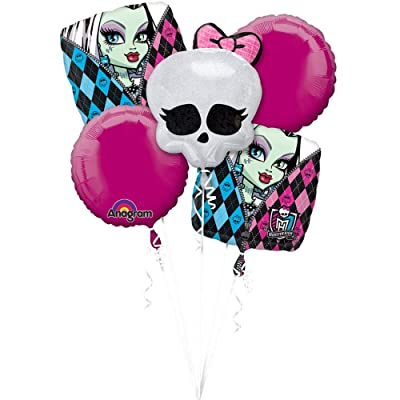 Anagram Monster High Balloon Bouquet: Toys & Games