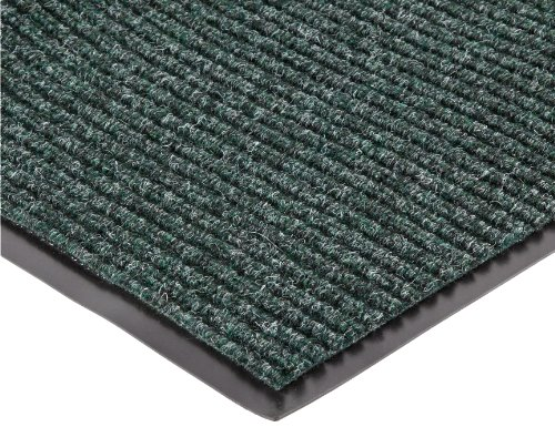 NoTrax 117 Heritage Rib Entrance Mat, for Lobbies and Indoor Entranceways, 3' Width x 6' Length x 3/8