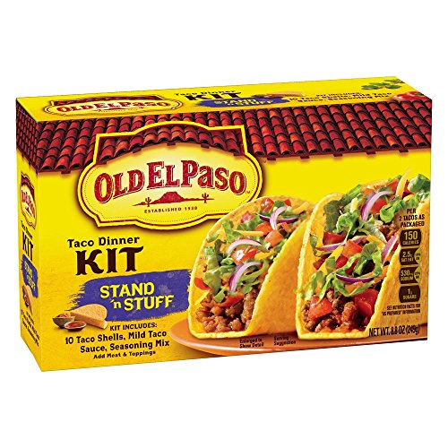 Old El Paso Stand 'n Stuff Taco Dinner Kit 8.8 oz Box (pack of 6)