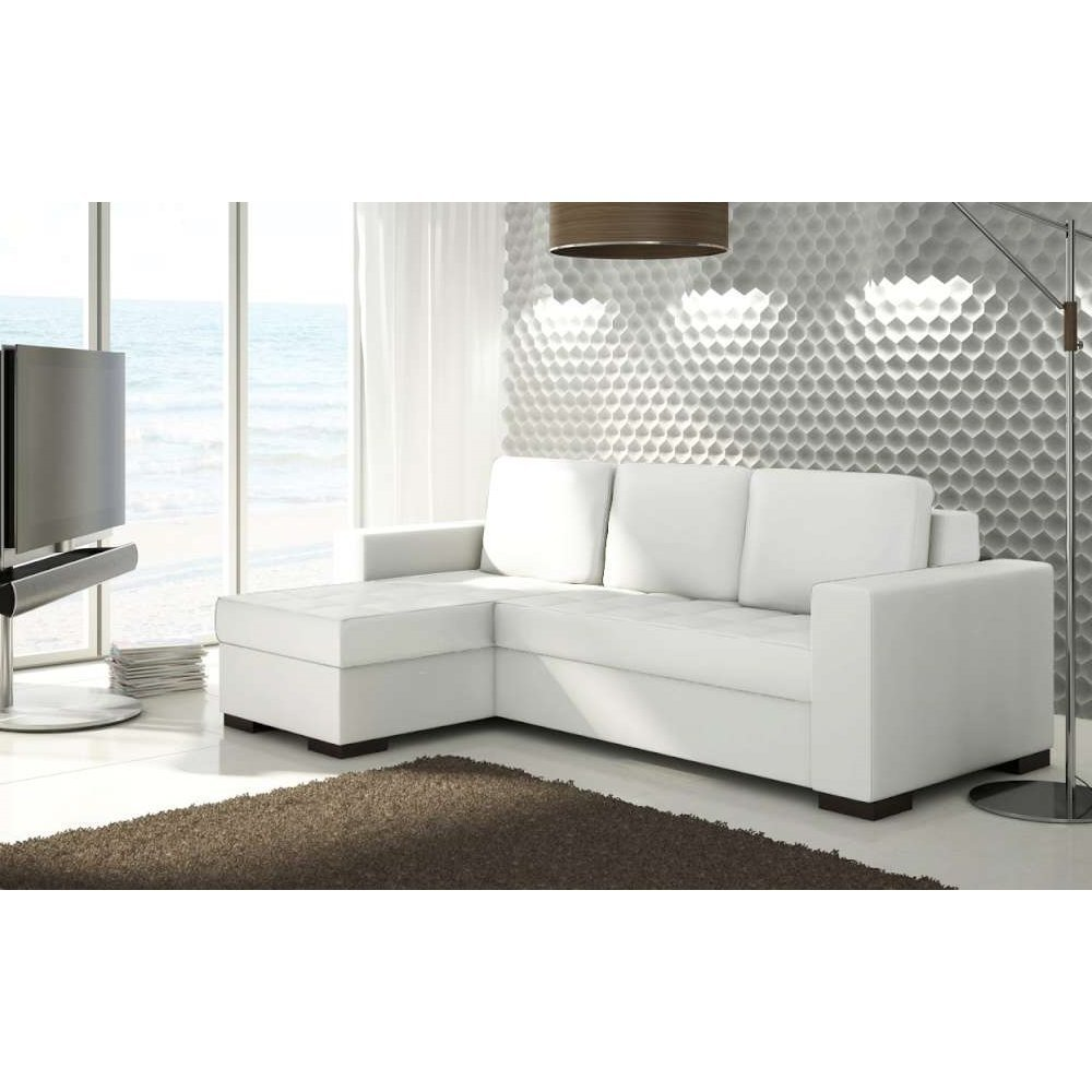 tendance canap cuir blanc am nager son salon divans sofa guide d co. Black Bedroom Furniture Sets. Home Design Ideas