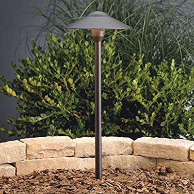Kichler Lighting Dome Path Light 1-Light 12-Volt Path & Spread Light