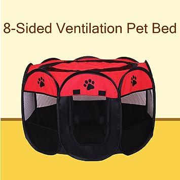 Cama para mascotas, portátil, plegable, de tela, para mascotas, perro,