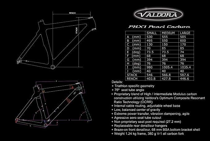 Amazon.com: Valdora PHX - Bicicletas de triatlón de fibra de ...