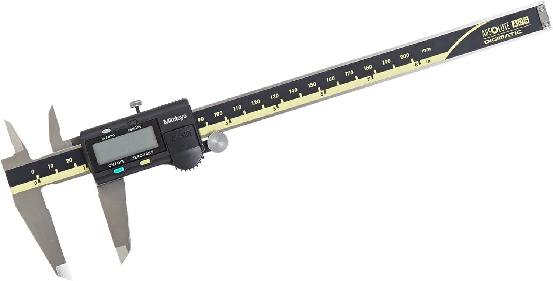 "0.0005/""//0.01 NEW 0-8/""// 0-200mm Absolute Digimatic Caliper Mitutoyo 500-197-30"