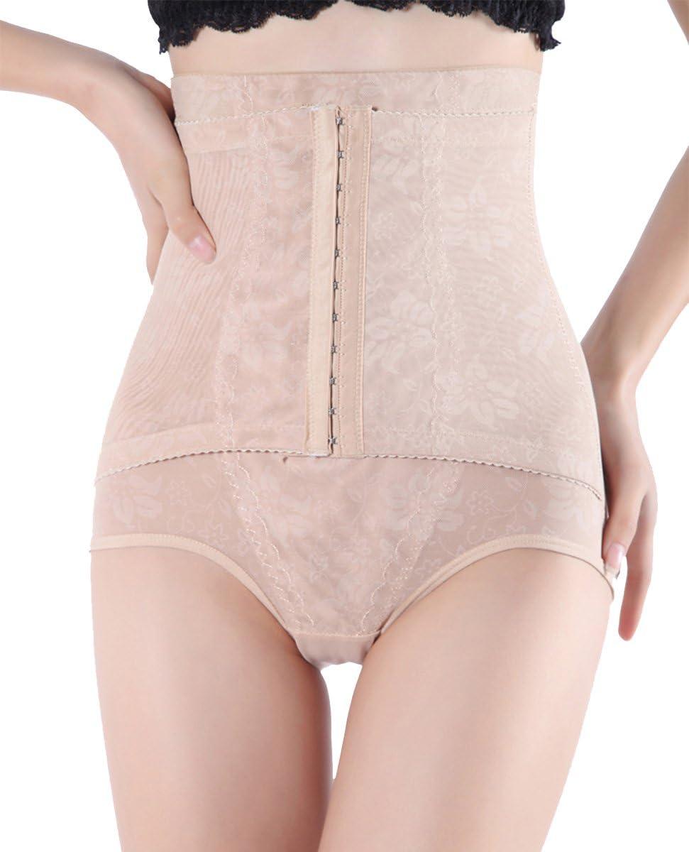TANGDA Culotte Gainante Gaine Amincissante Minceur Ventre Plat Serre Push-up Culotte Sculptante pour Femme Noir Taille S-XL