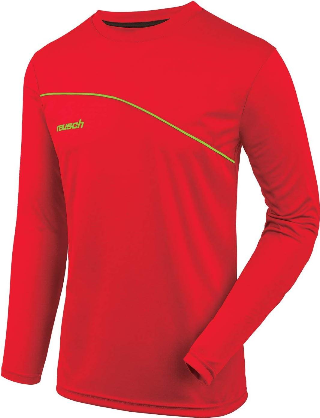 Reusch Match Camiseta de Manga Larga Acolchada para Hombre