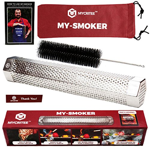 Mycritee Hexagonal Pellet Smoker Tube 12