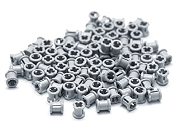 Lego 5 New Light Bluish Gray Technic Axle 3 Pieces Parts