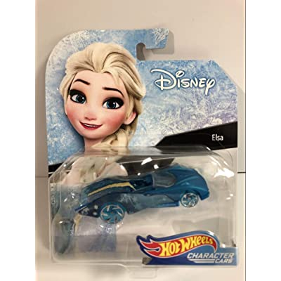 Hot Wheels Elsa Vehicle: Toys & Games