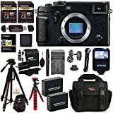 Fujifilm X-Pro2 Body Professional Mirrorless Camera + 32GB 2 Pack + Ritz Gear Camera Case + Polaroid 72 Tripod + 2 Batteries + Charger + Card Reader + Cleaning Kit + Memory Card Wallet Bundle
