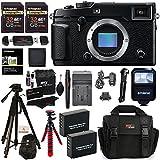 Fujifilm X-Pro2 Body Professional Mirrorless Camera + 32GB 2 Pack + Ritz Gear Camera Case + Polaroid 72 Tripod + 2 Batteries + Charger + Card Reader + Cleaning Kit + Memory Card Wallet Bundle
